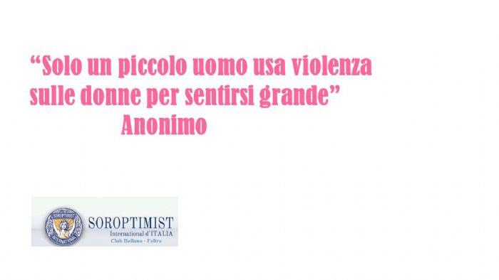 giornata mondiale contro la violenza sulle donne pubblicazione frase su siti istituzionali e social network giornata mondiale contro la violenza