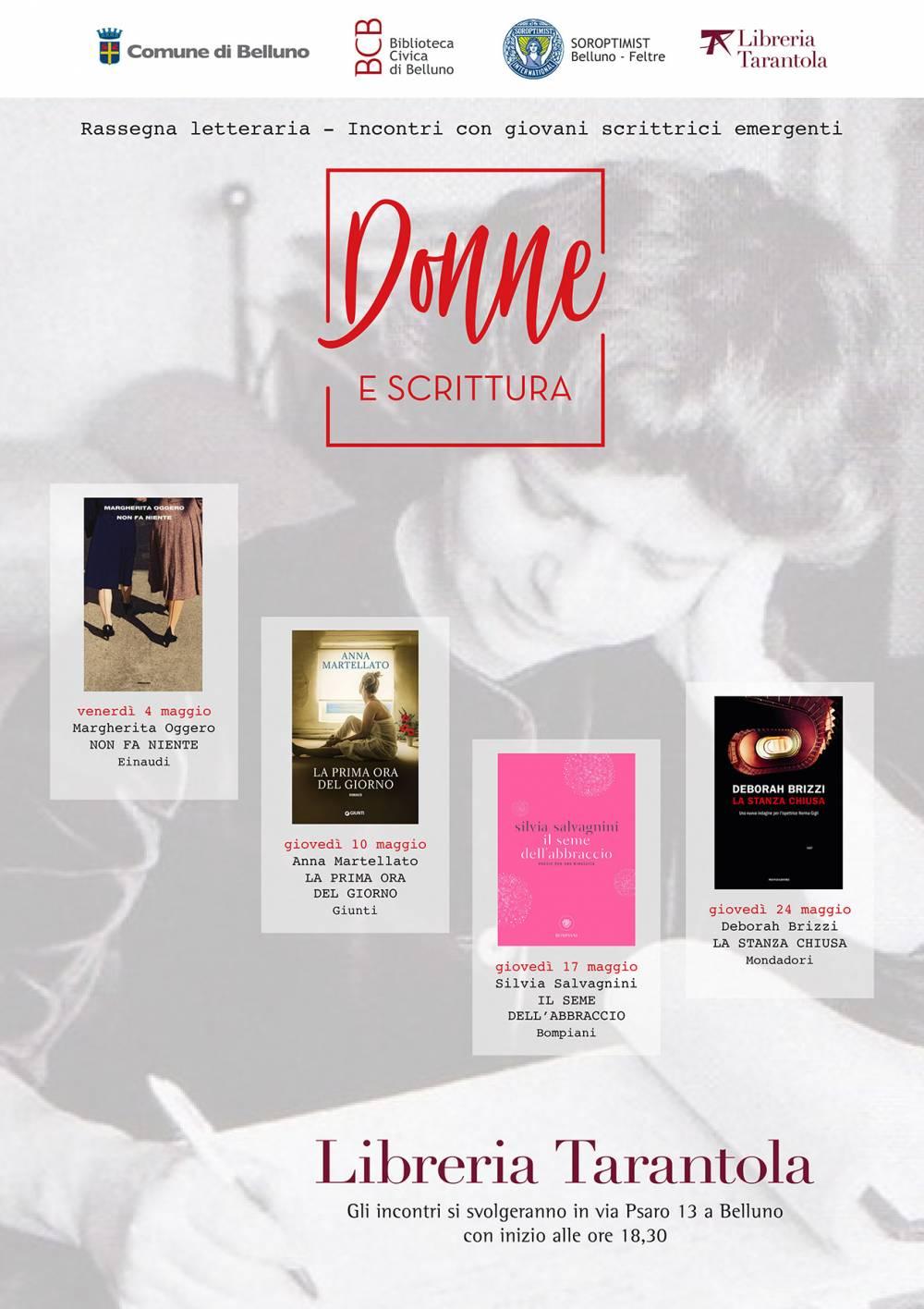 Soroptimist Progetti Si Va In Biblioteca Rassegna Donne E Scrittura