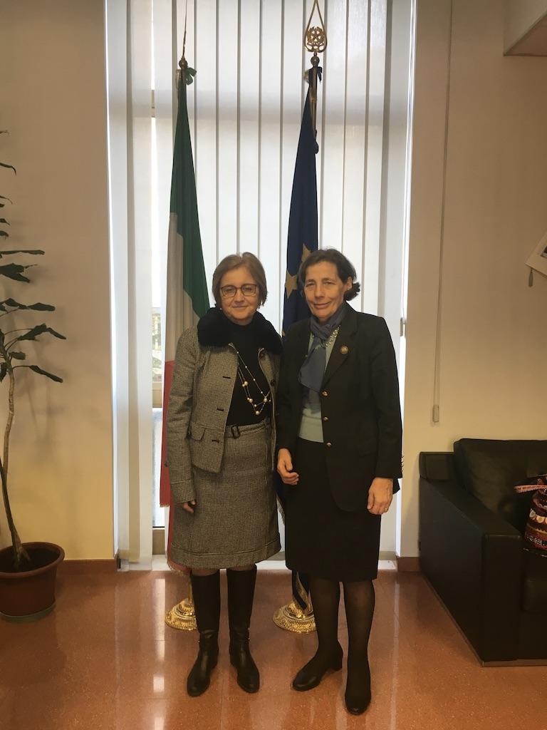 Incontro con il Prefetto di Pordenone La Presidente del ...